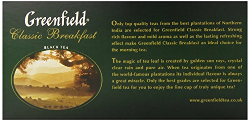 Greenfield Classic Breakfast ð¡Lassic Collection Black Tea Finely Selected Speciality Tea 100 Double