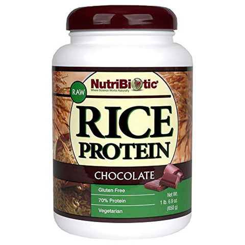 Nutribiotic - Rice Protein Chocolate, 1 lb 6.9 oz.