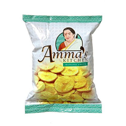 Amma's Kitchen Banana Chips 14 oz