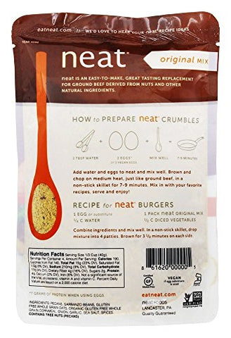 Neat Meat Alternative Original Dry Mix, 5.5 Ounce - 6 per case.