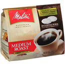 Image of Melitta Medium Roast Coffee Pods For Senseo & Hamilton Beach Pod Brewers, 18 Count (Pack Of 6)