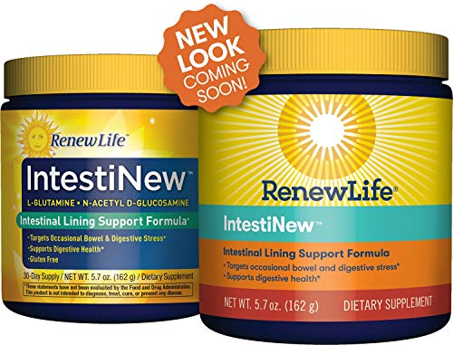 Renew Life Adult Digestive Aid   Intesti New   Intestinal Lining Support Formula   Gluten, Dairy & So