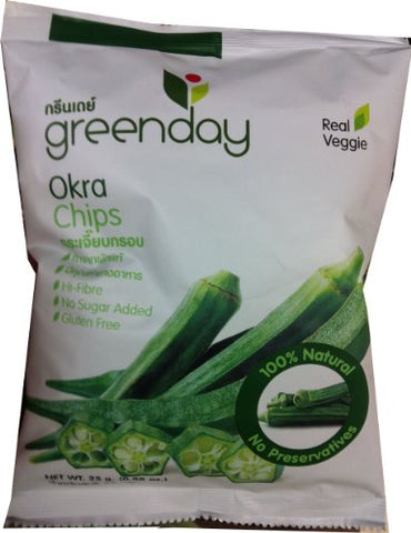 Greenday Okra Chips