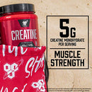 Image of BSN Micronized Creatine Monohydrate Powder, Unflavored, 2 Months Supply-60 Servings