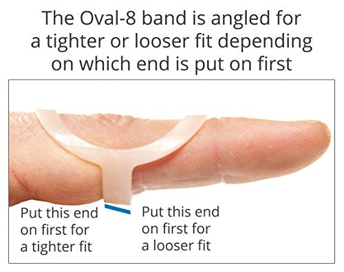 3-Point Products Oval-8 Finger Splint Size 15 (Pack of 1)