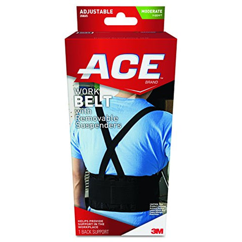 Ace Work Belt Back Support, Helps Provide Back Support When Lifting In The Workplace, Money Back Gua