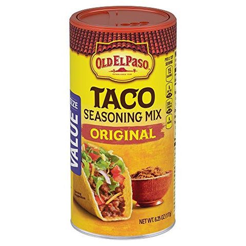 Old El Paso Taco Original Seasoning, 6.25 oz