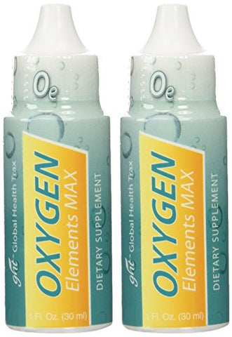 Oxygen Elements Max Plus Candida Therapy Yeast Fighter By GHT 1 Oz Per Bottle - 2 Bottles