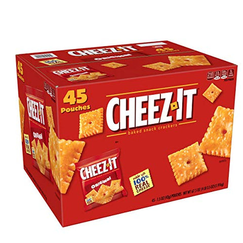 Cheez-It Original Snack Pack (1.5 Ounce ., 45 Pk.)Net Wt 67.5 Ounce,, ()