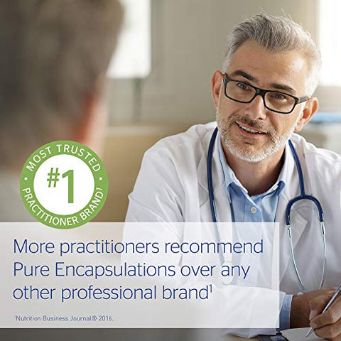 Pure Encapsulations - Zinc 30 - Zinc Picolinate (30 mg.) Highly Absorbable Hypoallergenic Supplement for Immune Support - 60 Capsules