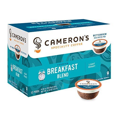 Cameron's Coffee Single Serve Pods, Breakfast Blend, 12 Count (Pack of 1)
