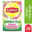 Image of Lipton Green Tea Bags Flavored With Other Natural Flavors Orange Passionfruit Jasmine Can Help Suppo