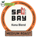 Image of SF Bay Coffee Kona Blend 36 Ct Medium Roast Compostable Coffee Pods, K Cup Compatible including Keurig 2.0 (Packaging May Vary)