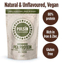 Image of Pulsin' Protein Isolate, Pea, 2.27 Pound
