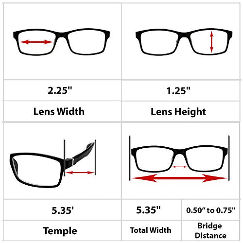 Computer Reading Glasses 0.75_White Tortoise Protect Your Eyes Against Eye Strain, Fatigue and Dry Eyes from Digital Gear with Anti Blue Light, Anti UV, Anti Glare, and are Anti Reflective