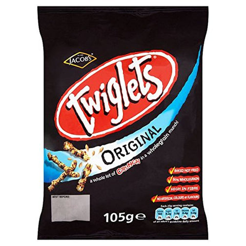 Jacob's Twiglets Original 12 x 105g Bulk Buy