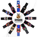 Image of D Moose Fitness Wrist Wraps For Weightlifting, Powerlifting, Barbell Strength Training, Benching, Bod