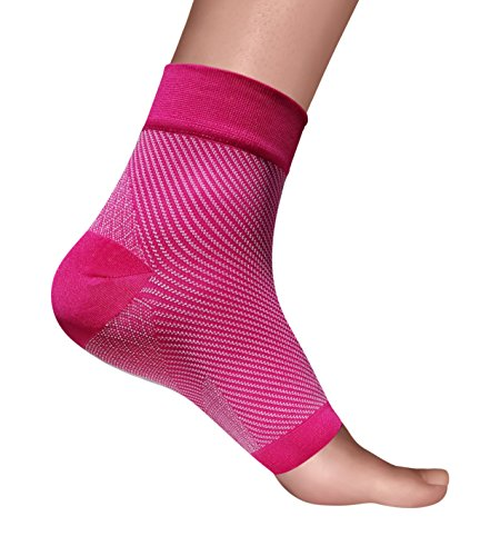 Footease Compression Socks: For Plantar Fasciitis, Heel Pain Relief, Edema â?? Firm Support