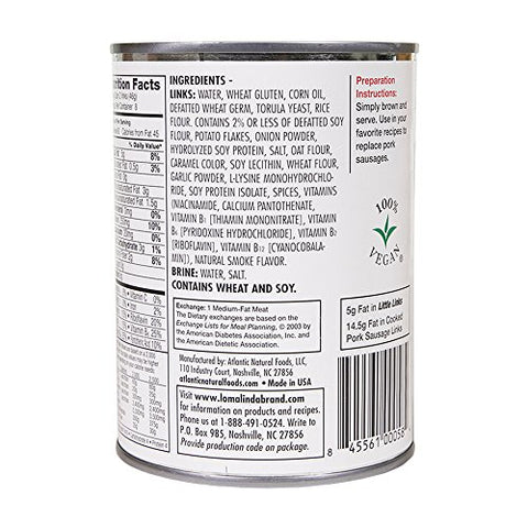 Loma Linda - Plant-Based - Little Links (19 Oz.) Kosher