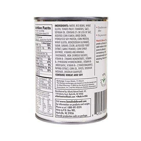 Loma Linda - Plant-Based - Chili (20 oz.) (Pack of 6) - Kosher
