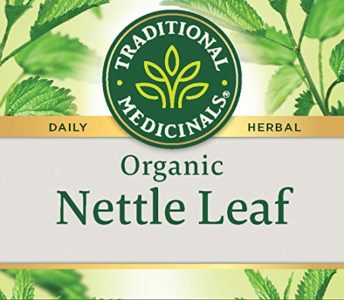 Traditional Medicinals Organic Nettle Herbal Leaf Tea, 16 Tea Bags (Pack of 6)