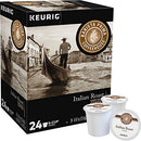 Image of Barista Prima Coffeehouse Italian Roast Coffee K-Cup for Keurig Brewers, Italian Roast Coffee (Count of 96) - Packaging May Vary
