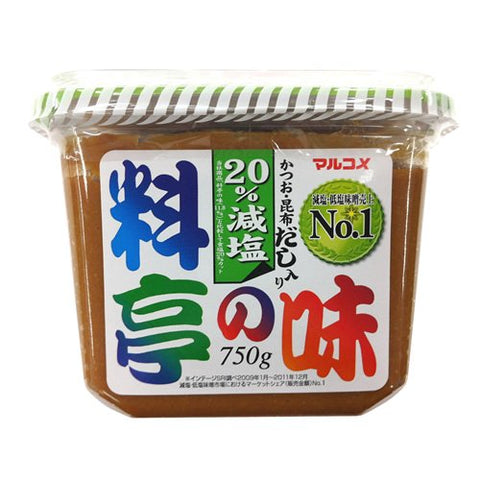 Taste decrease salt 750g of Marukome soup filled restaurant