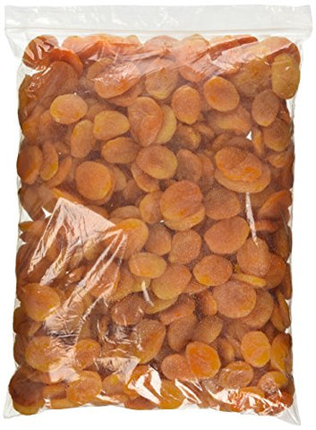 Turkish Apricot Large 5 Lb Bulk Bag