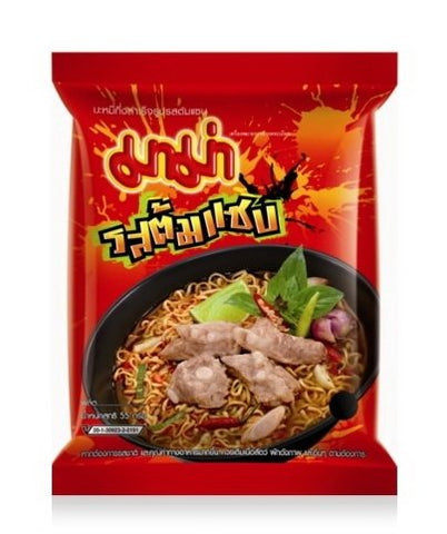 Instant Mama Noodles Tom Saab Flavor - Pack of 6