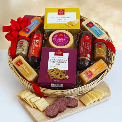 Holiday Selection Meat and Cheese Gift Box