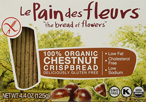 Le Pain Crispbread Chestnut, 4.41 oz, Pack of 6