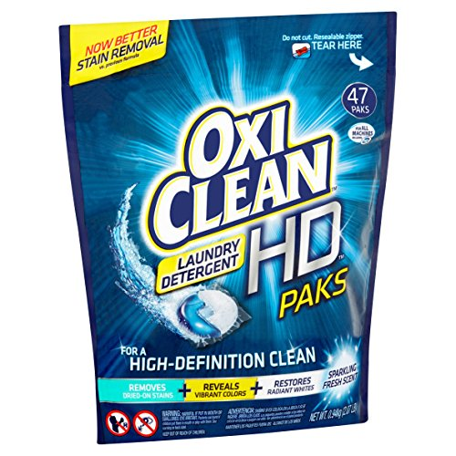 Oxiclean Laundry Detergent, 47 Count