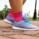 Image of Dowellife Plantar Fasciitis Socks, Ankle Brace Compression Support Sleeves & Arch Support, Foot Compression Sleeves, Ease Swelling, Achilles Tendonitis, Heel Spurs for Men & Women (Pink M)