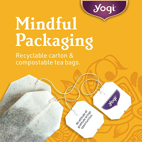 Yogi Tea   Chai Rooibos (6 Pack)   Warming And Spicy Sweet   96 Tea Bags Total