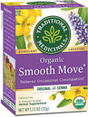 Image of Traditional Medicinals Organic Smooth Move Laxative Tea, 16 Tea Bags (Pack of 6)
