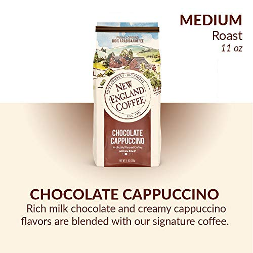 New England Coffee Chocolate Cappuccino, 11 Ounce (1 Count)