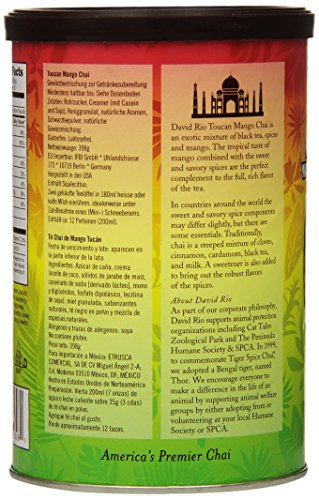 David Rio Chai Mix, Toucan Mango, 14 Ounce (Pack of 1)