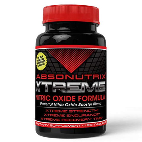 Absonutrix Xtreme Power Formula Nitric Oxide Blend 120 Tablets
