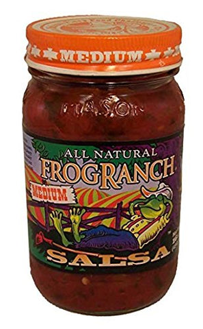 Frog Ranch Medium All Natural Salsa 16 oz. (Pack of 3)