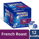 Image of Maxwell House French Roast Keurig K Cup Coffee Pods (12 Count)