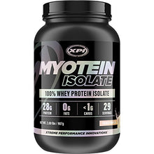 XPI Myotein Isolate (French Vanilla) 2LBS - Whey Protein Isolate - The Best Whey Protein Isolate Protein Powder