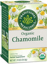 Image of Traditional Medicinals Organic Chamomile Herbal Leaf Tea, 16 Tea Bags (Pack of 6)