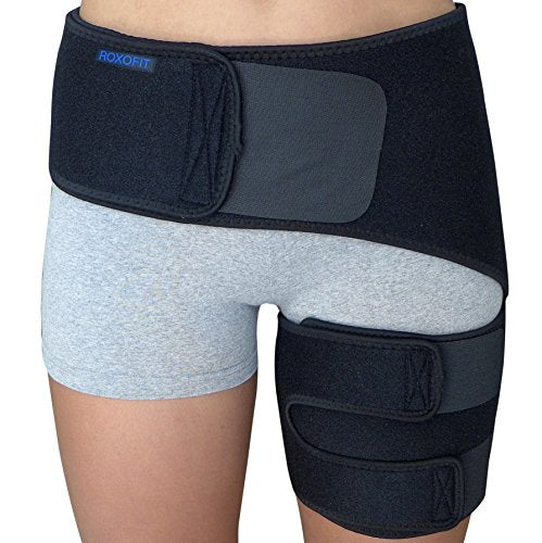 Hip Brace   Sciatica Pain Relief Brace   Groin Compression Wrap For Thigh Hamstring Hip Arthritis Bu
