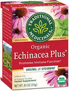 Image of Traditional Medicinals Organic Echinacea Plus Seasonal Tea, 16 Tea Bags (Pack Of 6)