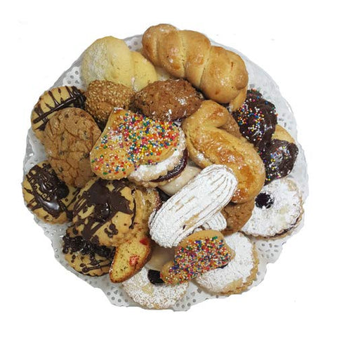 Italian Style Assorted Cookies on Tray 2lbs.