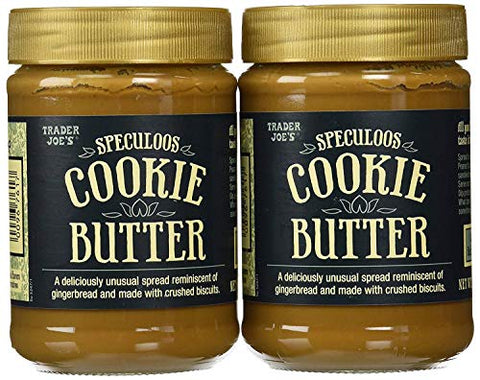 Trader Joe's Speculoos Cookie Butter 14.1 Oz - PACK OF 4