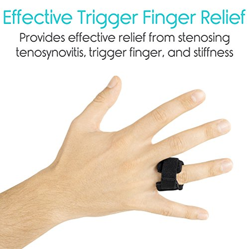 Vive Trigger Finger Splint   Support Brace For Middle, Ring, Index, Thumb And Pinky   Straightening