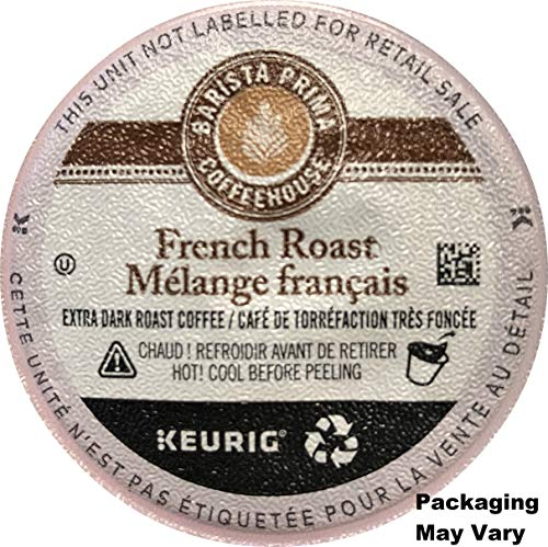 Barista Prima Coffeehouse Coffee, Keurig K-Cups, French Roast, 72 Count