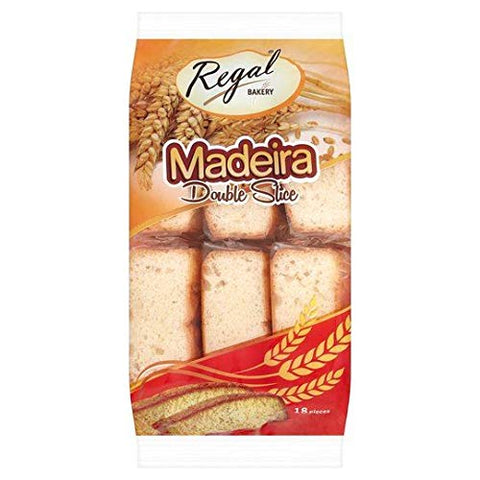 Regal Bakery Madeira Double Slice - 370g