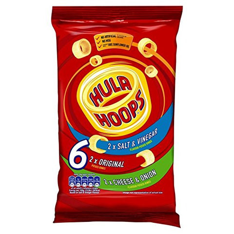KP Hula Hoops Assorted Variety 6 Pack